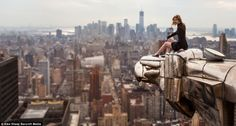 For the past six years daredevil Lucinda Grange has travelled the world scaling famous buildings and structures and taking pictures from the top, Alan White writes at BuzzFeed. Description from almaalexander.org. I searched for this on bing.com/images