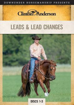 Nothing illustrates a well-trained horse better than a seamlessly executed flying lead change. Being able to cue the horse and have him effortlessly switch leads is the ultimate in body control and collection. In this in-depth series, Clinton breaks down the process of teaching lead changes into manageable steps that build on one another.