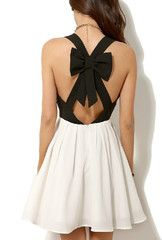 CROSS BOW DRESS