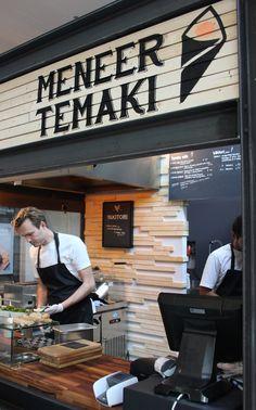 De Foodhallen Amsterdam Meneer Temaki http://www.enjoythegoodlife.nl/de-foodhallen-amsterdam/