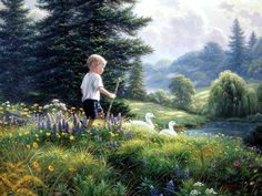 Grand Adventure by Mark Keathley is a signed numbered limited edition print from a Mark Keathley original painting Nostalgia Art, Wildlife Art, Best Artist, Beautiful Paintings, Awesome Paintings, Large Art, American Artists, Landscape Paintings, Landscapes