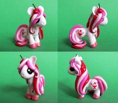 Cherry Sundae Pony by DragonsAndBeasties.deviantart.com on @deviantART