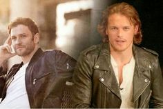 The 'OUTLANDER' brothers-in-law, Ian and Jamie. Wow!