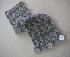 broomstick lace collar scarf