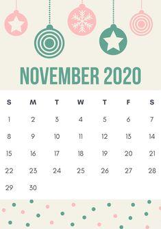 Cute November 2020 Calendar Design Cute Calendar, Holiday Calendar, Calendar 2020, Calendar Design Template, Quote Template, November Holidays, November Calendar, Calendar Wallpaper, Templates Printable Free