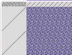 draft image: Page 103, Figure 09, Atlas D'Armures Textiles, B. Fressinet, 12S, 64T