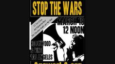 Anti-war march in Hollywood, CA  https://vimeo.com/21279089