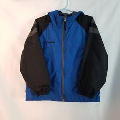 Youth Boy Columbia Jacket Size 4 / 5 on Mercari Blue Raincoat, Hooded Raincoat, Raincoats For Women, Rain Jacket, Windbreaker, Athletic, Jackets, London, Fashion