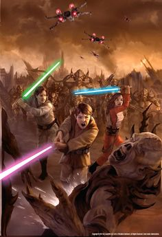 hnos solo: jacen, anakin, jaina Engaging in Yuzhon Vong War Post-Imperial
