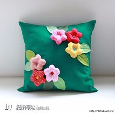 52 (564x554, 106Kb) Cushion Cover Designs, Pillow Cover Design, Cushion Covers, Cute Pillows, Diy Pillows, Throw Pillows, Crochet Cushions, Sewing Pillows, Patchwork Pillow