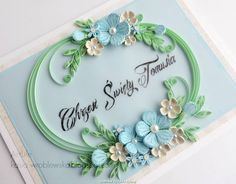 © ArtLife - Quilled flower cards  (Searched by Châu Khang)