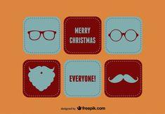 Merry Christmas Santa Set