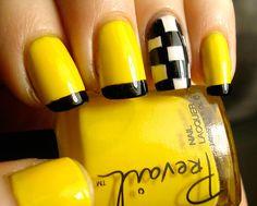 Yellow Nail art and Manicure – 30 beautiful ideas | Nail art - nails - diy