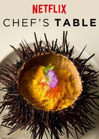 """Chef's Table"" (2015). Wonderful 6-episode series by Netflix, each episode featuring a different chef. I moaned, I groaned, I drooled over all the amazing food shown in each episode."