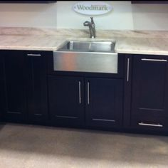 Stainless steel farm sink!