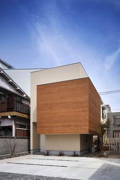 Casa en Kyobate por Naoko Horibe