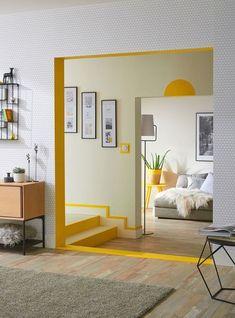 Living Room Decor, Living Spaces, Bedroom Decor, Decor Room, Bedroom Ideas, Retro Living Rooms, Bedroom Wall Designs, Dining Room, Interior Inspiration