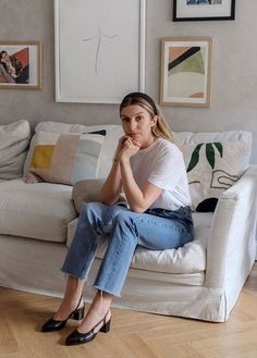 45 Ideas Style Inspiration Classic French For 2019 Parisienne Chic, Brittany Bathgate, Looks Jeans, What Should I Wear, Mein Style, Looks Street Style, Fancy Shoes, Hipster, Casual Jeans