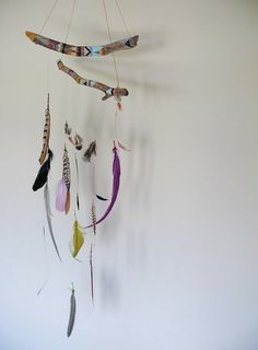 feather/dream catcher mobile