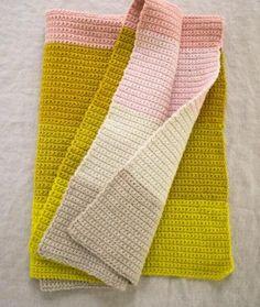 Crocheted Super Easy Baby Blanket