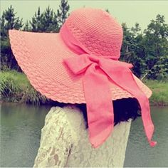 Womens Fashion Bowknot Floppy Hat (4 Colours). Only at www.pandadeals.co.uk