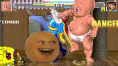 Annoying Orange & Infant Mutant Naughty Baby VS Doctor Strange & SpongeBob In A MUGEN Match This video showcases Gameplay of SpongeBob SquarePants And Doctor Strange The Superhero VS Infant Mutant Naughty Baby And The Annoying Orange In A MUGEN Match / Battle / Fight