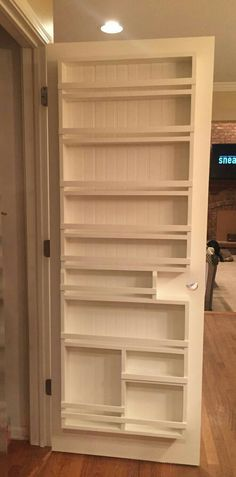 Kitchen Organization Pull Out Shelves in Pantry Shelving