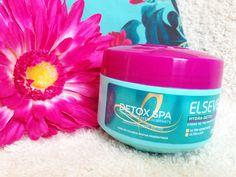 Resenha da máscara Hydra Detox Elseve, uma máscara leve e reequilibrante, indicada para cabelos oleosos com pontas ressecadas.