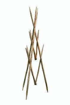 JArnault: inventory Coat Stands, Coat Hanger, Hanging Art, Home Art, Hair Accessories, Interior Ideas, Hangers, Decay, Wood