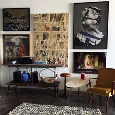 Take a look into Emily Ratajkowski's eclectic, art-filled Los Angeles loft.