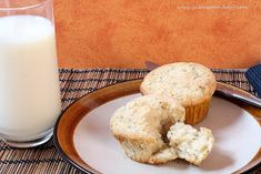 It is a chilly fall morning. What sounds good? A warm muffin from the oven. An almond poppy seed muffin to be exact. About 15 y...