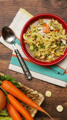 What's more comforting than homemade chicken noodle soup?