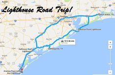Take This Road Trip To Visit 5 of The Greatest Lighthouses In Texas