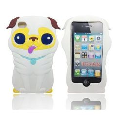 Amazon.com: Minidandan 3d Cute Cartoon Dogs Puppy Silicone Gel Protective Cover Case for Apple Iphone 4 4s Case: Cell Phones & Accessories