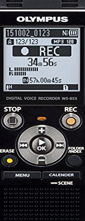 Olympus WS-853 MP3 Digital Stereo Voice Recorder with 8 GB Flash Memory and Built-In USB - Silver 8GB Black (Barcode EAN = 4545350049041). http://www.comparestoreprices.co.uk/december-2016-week-1/olympus-ws-853-mp3-digital-stereo-voice-recorder-with-8-gb-flash-memory-and-built-in-usb--silver.asp