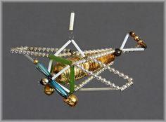 TOP 5 St Gablonz Tasche Grasshopper Flugzeug Schmetterling Frosch um 1920 1950 | eBay