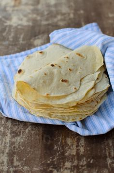 selbstgemachte Weizentortillas - homemade wheat tortillas