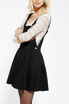 Cassette Society Spike Overall Skirt