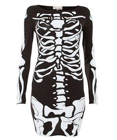 Womens Ladies Halloween Skeleton Skull Bone Red Blood Heart Girls Bodycon Costume Novelty Party Dress Tunic Plus Size 16 18 20 (UK Black Red Heart) Best Halloween Costumes & Dresses USA Ray Costume, Costume Dress, Skeleton Dress, Halloween Fancy Dress, Halloween Costumes, Halloween Skull, Skeleton Costumes, Halloween Fashion, Creepy Halloween