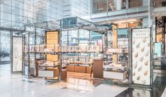 Retail and branding specialists UXUS have designed a series of luxury shops at Columbus Circle, a permanent retail pop-up framework that allows upscale… Clothing Store Design, Street Food Market, Columbus Circle, Retail Merchandising, Brick And Mortar, Retail Design, Kiosk Design, Shop Plans, Common Area