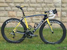 Alberto Contador's Specialized S-Works Tarmac, Tour de France - 2014