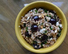 A Chesapeake Journal - farro and feta salad