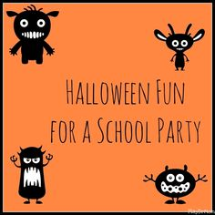 PlayDrMom shares her ideas for a Halloween Party at School