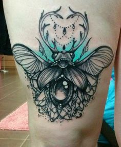 by Szandra (Wonderland Tattoo)