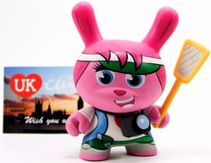 Dunny Ye Olde English Series - Clutter Magazine Little Tourist