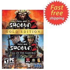 Total War: Shogun 2 -- Gold Edition (PC, 2013) SEALED