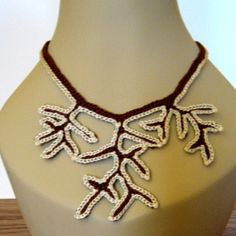 Tree of Life Crocheted Necklace