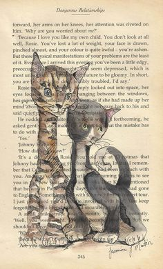 Two cats by JasmineJean