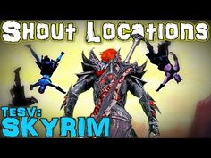 TESV: Skyrim - All Shout & Word Wall Guide (Vanilla) - YouTube