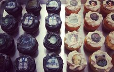 A galaxy of cupcakes! #theforceisstrong